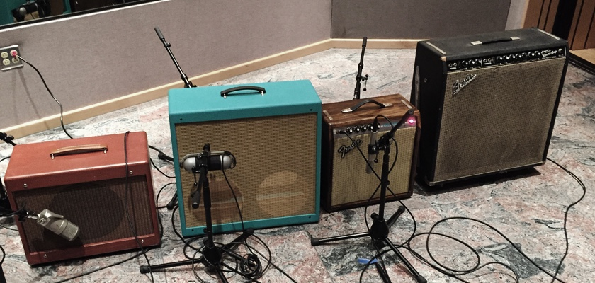 Micha Schellhaas amp setup Double Take